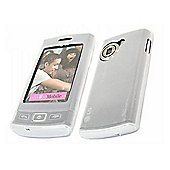 iTALKonline 15692 SoftSkin White Silicone Case - LG GM360 Viewty Snap