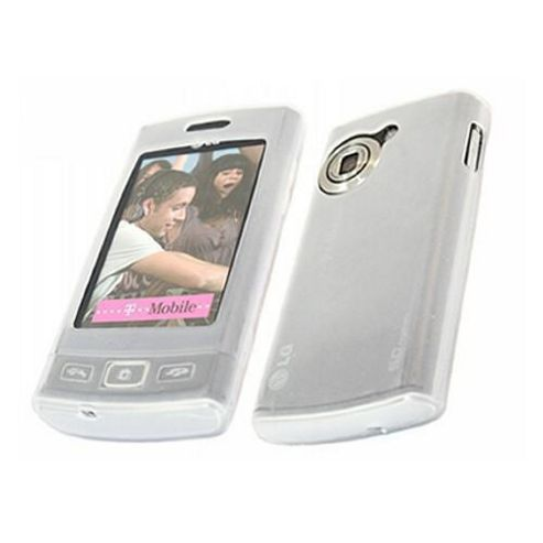 iTALKonline 15692 Soft Skin Silicone Case White For - LG GM360 Viewty Snap