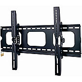 "Duronic Black Universal 33""-65"" TV Wall Mount with Security Locking Bar"