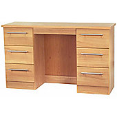 Welcome Furniture Sherwood Kneehole Dressing Table - English Oak