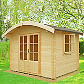FINEWOOD Savanake 10 x 12 (28mm) Log Cabin