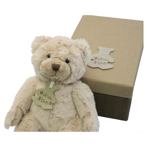Historie D'ours Beige Soft Bear, 25cm