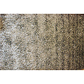 Angelo Capri Medium Gray Knotted Rug - 240cm x 170cm (7 ft 10.5 in x 5 ft 7 in)