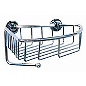 Never Drill Again Coorb Corner Shower Caddy