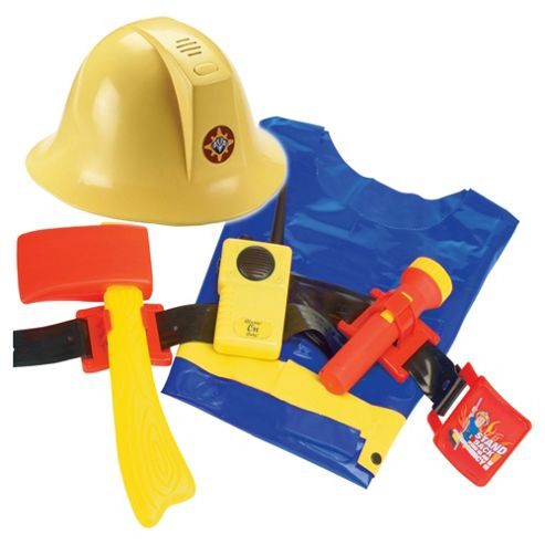 Fireman Sam Helmet & Utility Belt Hero Set