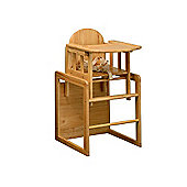 East Coast Combination Wooden High Chair & Table
