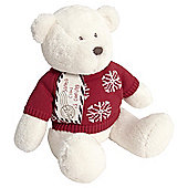 Mamas & Papas Soft Toy My Xmas Bear