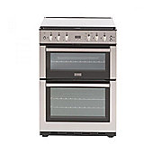 Stoves SFG60DOP 60cm Freestanding Double Gas Oven in Stainless Steel with Grill