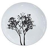Tesco Shadow Tree Porcelain side plate