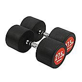 Bodymax Pro V3 Rubber Dumbbells - 27.5kg