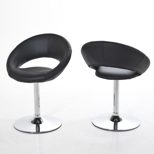 Aspect Design Round Dining Chair - Black
