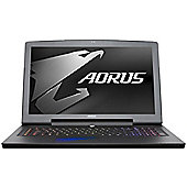 "AORUS X7 17.3"" Intel Core i7 Windows 10 16GB RAM 256GB SSD + 1000GB 7200 RPM SATA HDD Gaming Laptops Black"