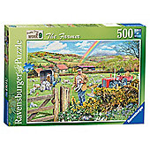 Ravensburger Happy Days at Work - The Farmer, 500 Piece Puzzle