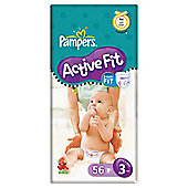 Pampers Active Fit Econ Pack Midi 56