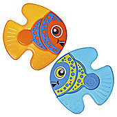 Vital Baby - Nurture Fishy Friends Teether - Boy - 2 pack