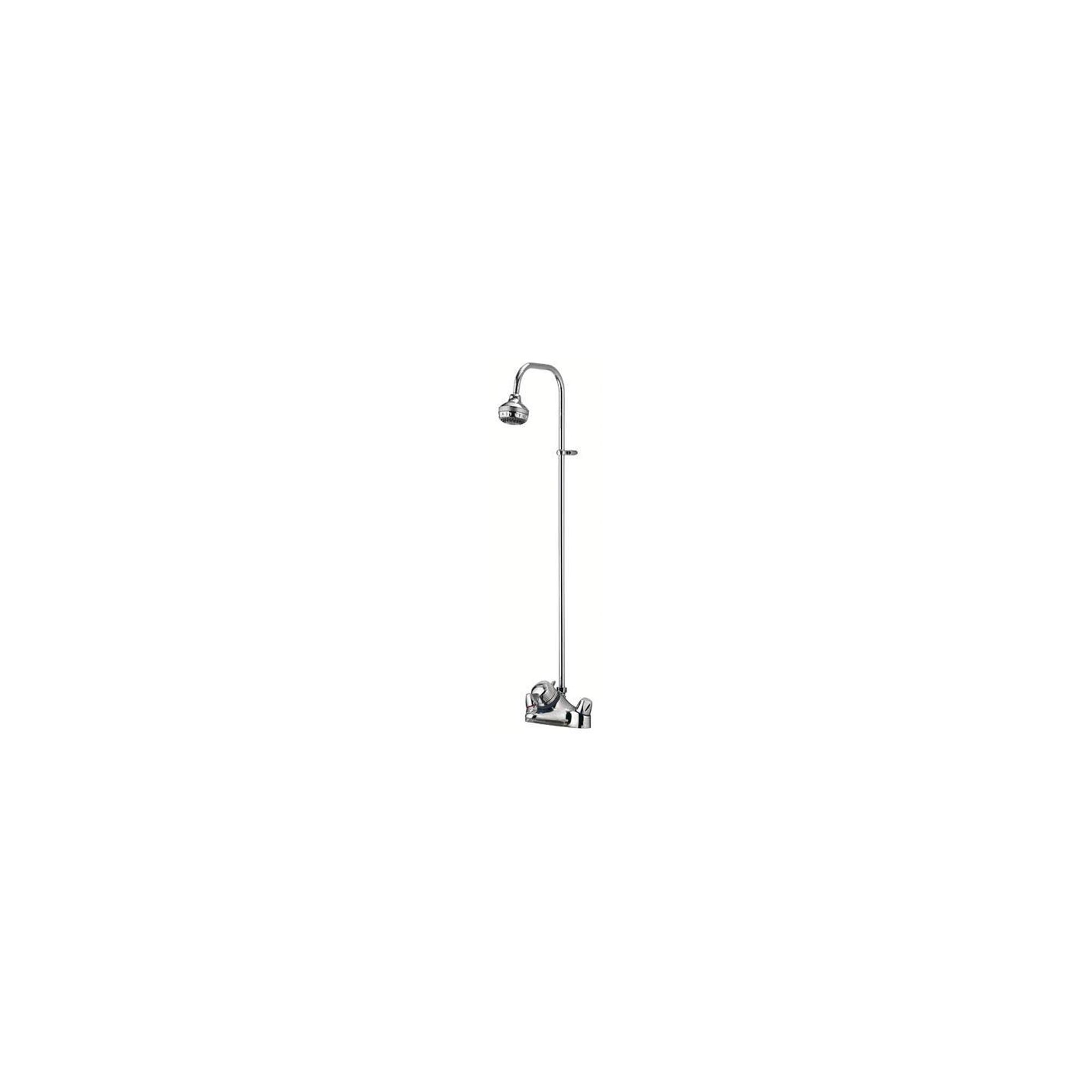 Aqualisa Aquamixa Thermo Shower Valve with Exposed Shower Head Chrome at Tesco Direct