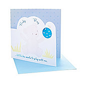Mothercare Baby Boy Star Card