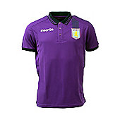 2013-14 Aston Villa Polo Shirt (Purple) - Purple