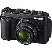 DS Nikon Coolpix P7700 3D Camera Black 12MP 7.1xZoom 3.0LCD FHD 28mm Wide Lens