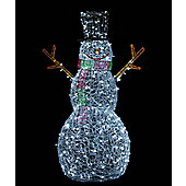 Light Up Acrylic LED Snowman, 150cm