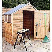 3ft x 6ft Overlap Apex Shed