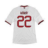 2013-14 AC Milan Away Shirt (Kaka 22) - White