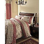 Catherine Lansfield Home Premium Multi Coloured Kashmir King Size Quilt Set