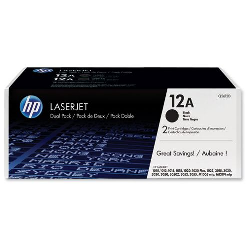 Hewlett-Packard LaserJet Toner Cartridges Black