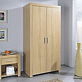 Urbane Designs Siracusa Two Door Wardrobe in Oak