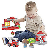 Mega Bloks Junior Builders Firestation Rescue