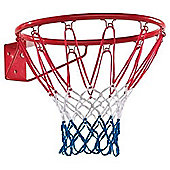 Dunlop Basketball Ring Hoop Net 18 45cm Wall Mounted Outdoor Hanging Wall