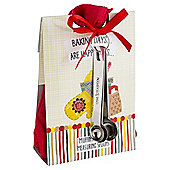 Baking Days Muffin Mix Bag & Steel Measuring Spoons Set