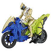 Power Rangers Dino Supercharge Cycle  Gold Fig