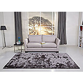 Leader Lifestyle Valencia Pearl Grey Tufted Rug - 140 cm x 200 cm (4 ft 7 in x 6 ft 7 in)