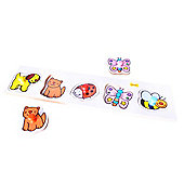 Bigjigs Toys BJ069b Lift and Match Puzzle Pets