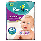 Pampers Active Fit Size 4+ Monthly Pack - 140 Nappies