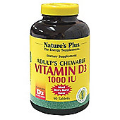 Adults Vitamin D3 1000Iu Chewable