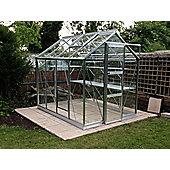Rhino Harvest Greenhouse – 6x8 - Natural Aluminium Finish