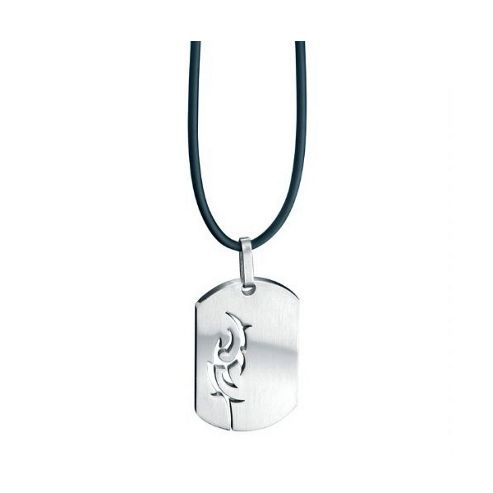 Fred Bennett Stainless Steel Dog Tag Pendant