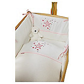 Clair De Lune Stardust Rocking Crib Bedding Set - Blue - Pink