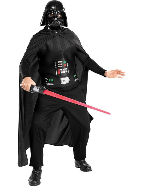 Adult Economy Star Wars Darth Vader Fancy Dress Costume