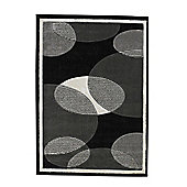 Oriental Carpets & Rugs Art Twist Grey Carved Rug - 150cm L x 80cm W