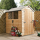 6ft x 4ft Tongue & Groove Apex Shed With Single Door