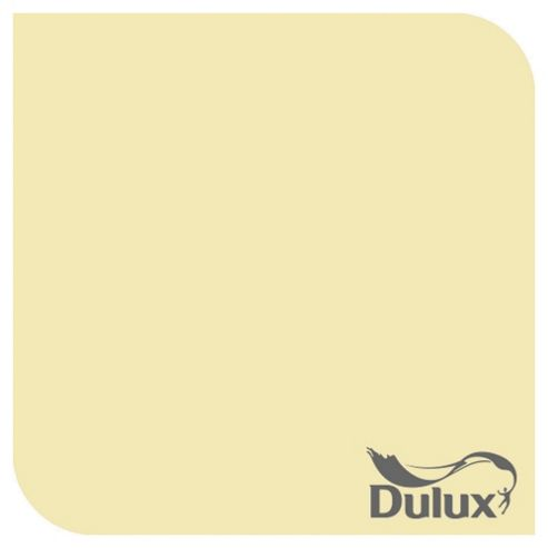 Dulux Silk Emulsion Paint, Pale Citrus, 2.5L