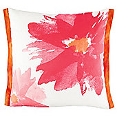 Water Colour Daisy Cushion Pink