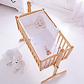 Clair de Lune 2pc Crib Set (Tippy Tumble White)