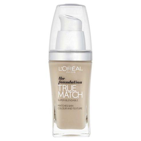 L'Oréal True Match Foundation C1 Rose Ivory 30ml
