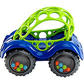 Oball Rattle and Roll Car Blue