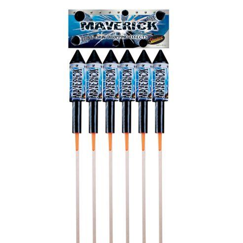 Maverick Fireworks 36 Rocket Pack