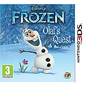 Disney Frozen : Olaf's Quest (Nintendo 3DS)